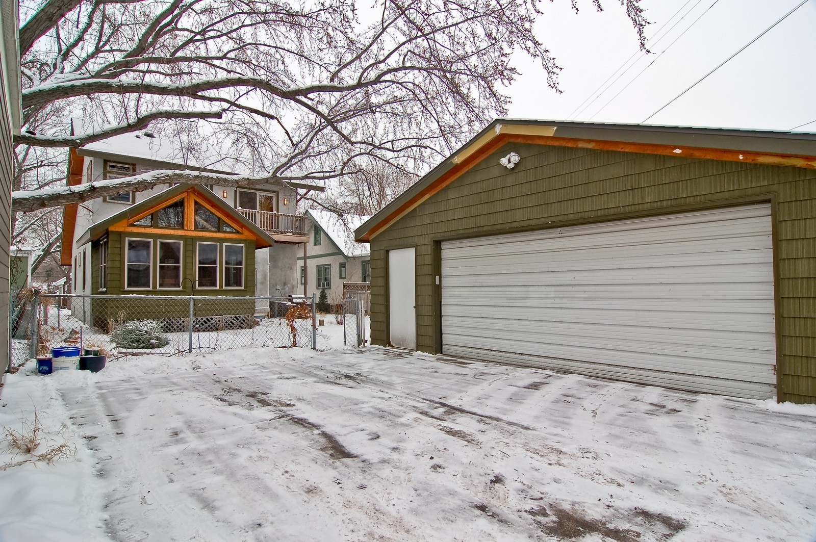 Real Estate Photography - 5012 Upton Avenue South, Minneapolis, MN, 55410 - Rear View