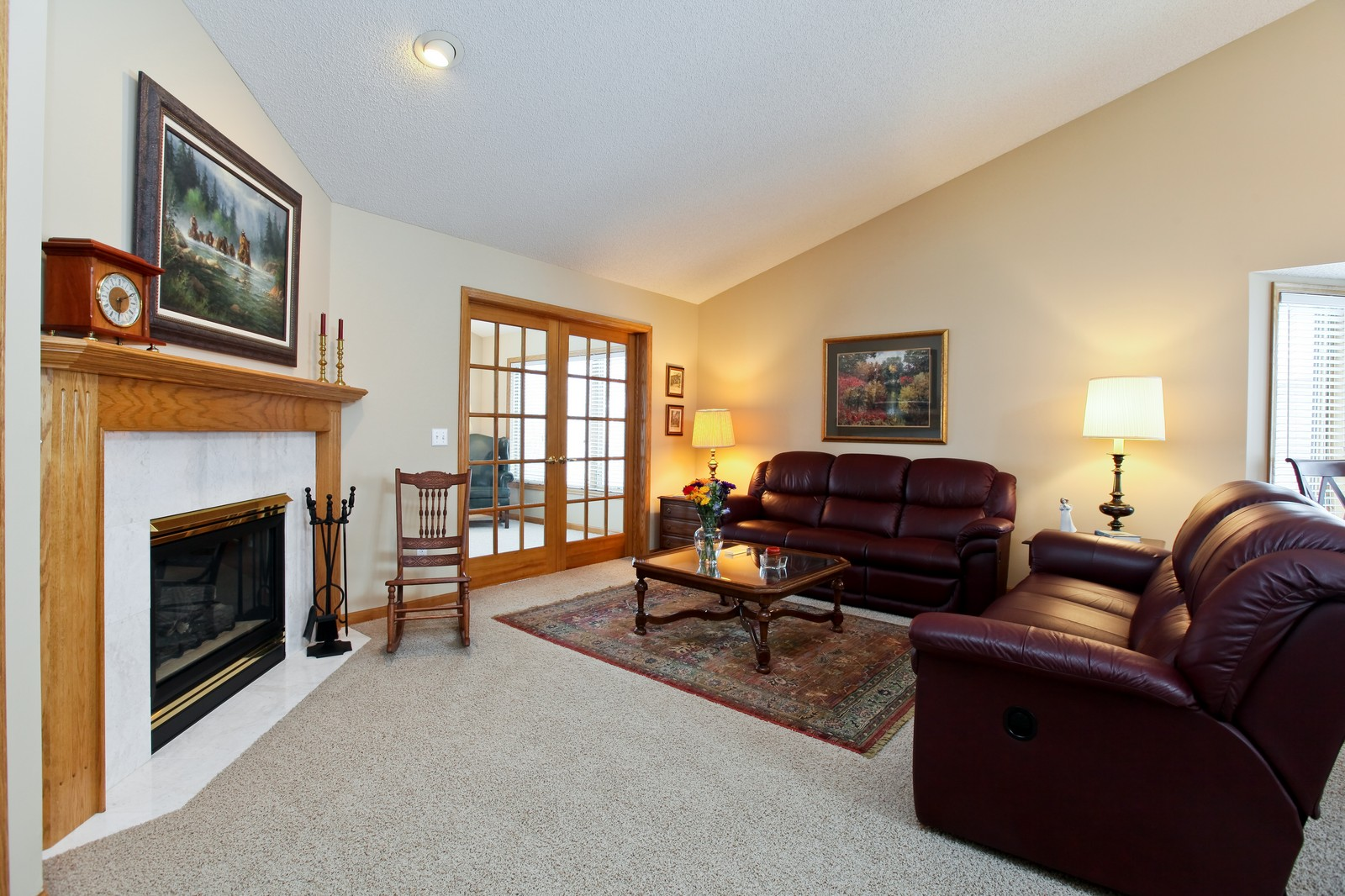 Real Estate Photography - 16020 38th Ave North, Plymouth, MN, 55446 - Living Room