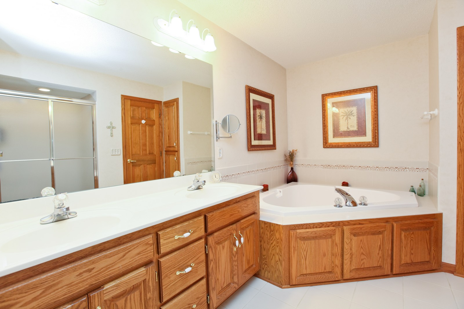 Real Estate Photography - 16020 38th Ave North, Plymouth, MN, 55446 - Master Bathroom