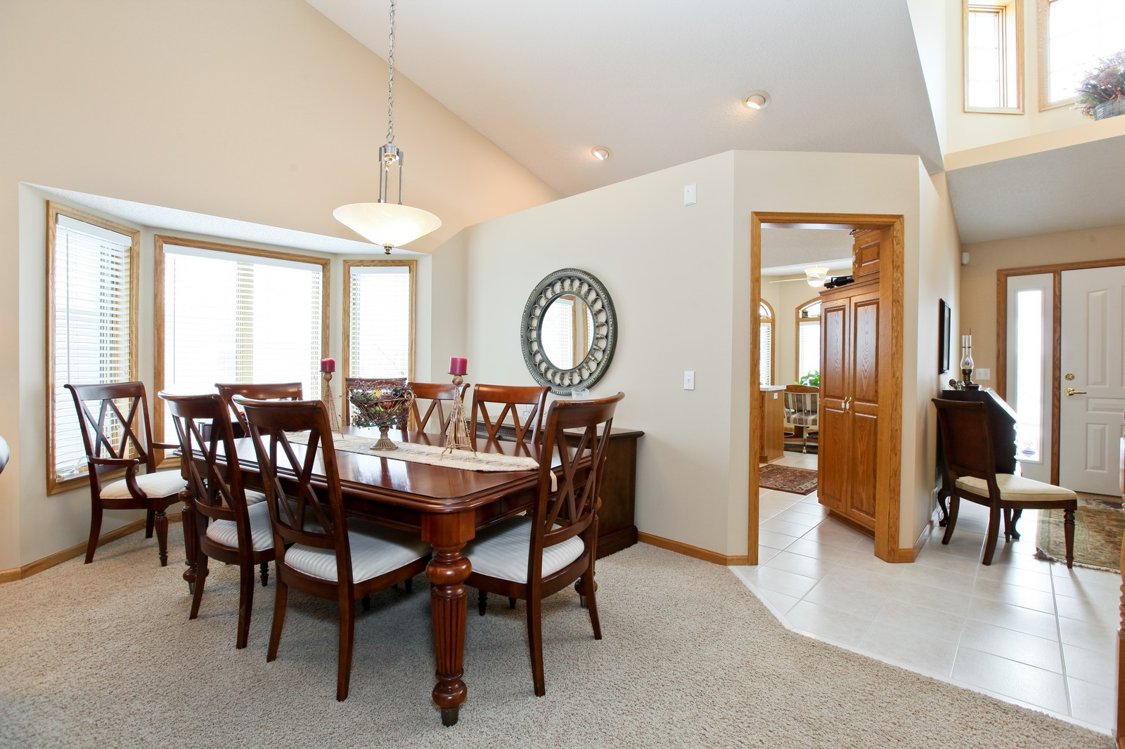 Real Estate Photography - 16020 38th Ave North, Plymouth, MN, 55446 - Dining Room