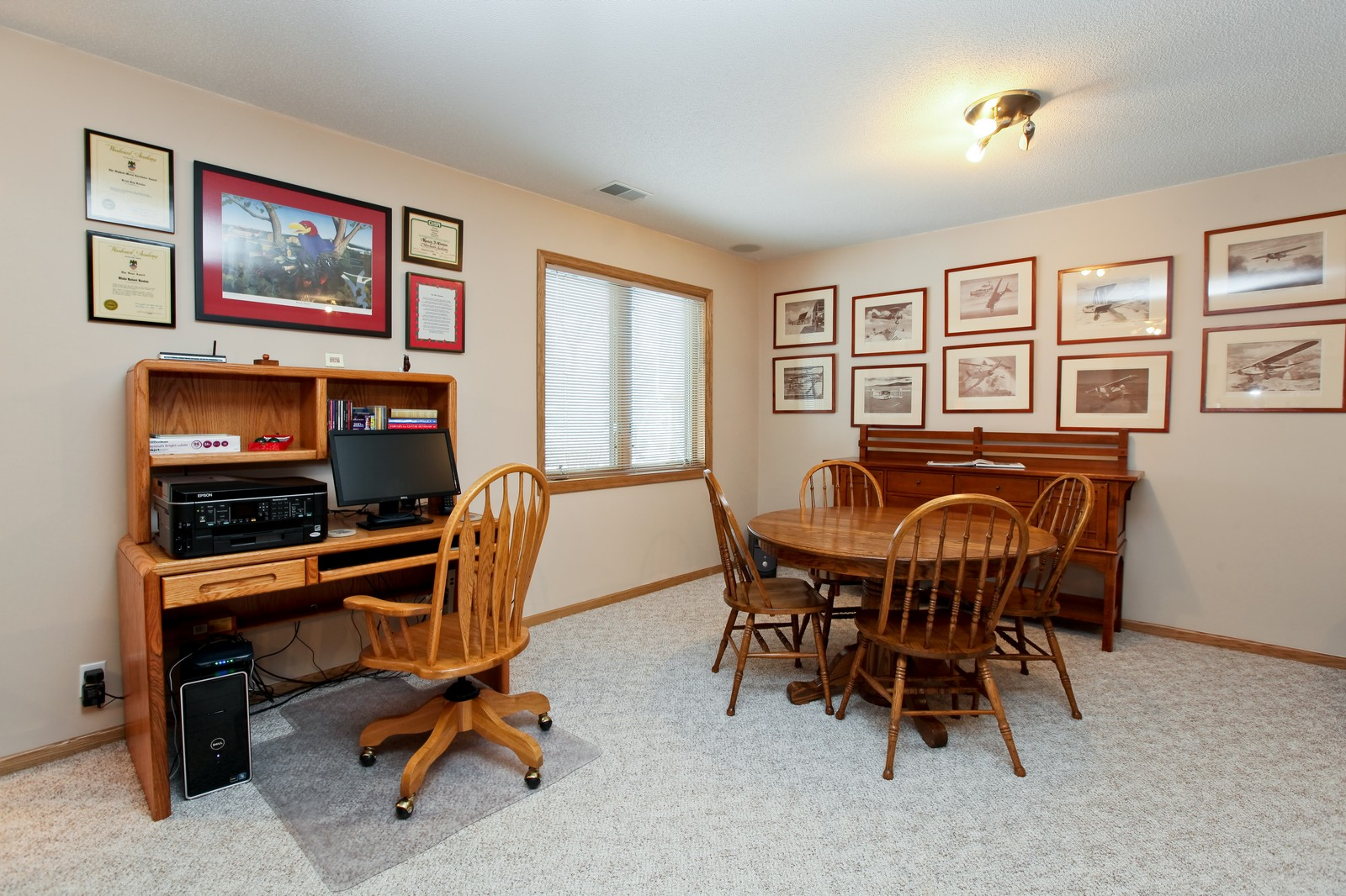 Real Estate Photography - 16020 38th Ave North, Plymouth, MN, 55446 - Entertainment Room