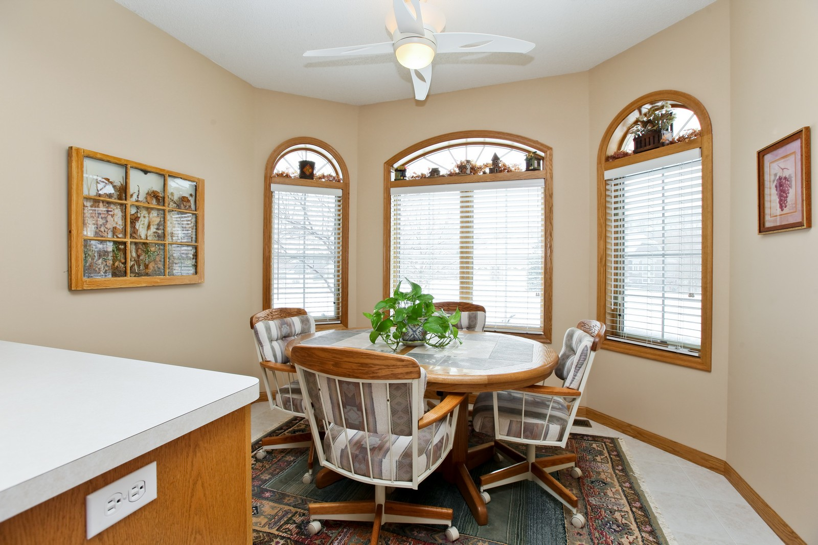 Real Estate Photography - 16020 38th Ave North, Plymouth, MN, 55446 - Breakfast Nook