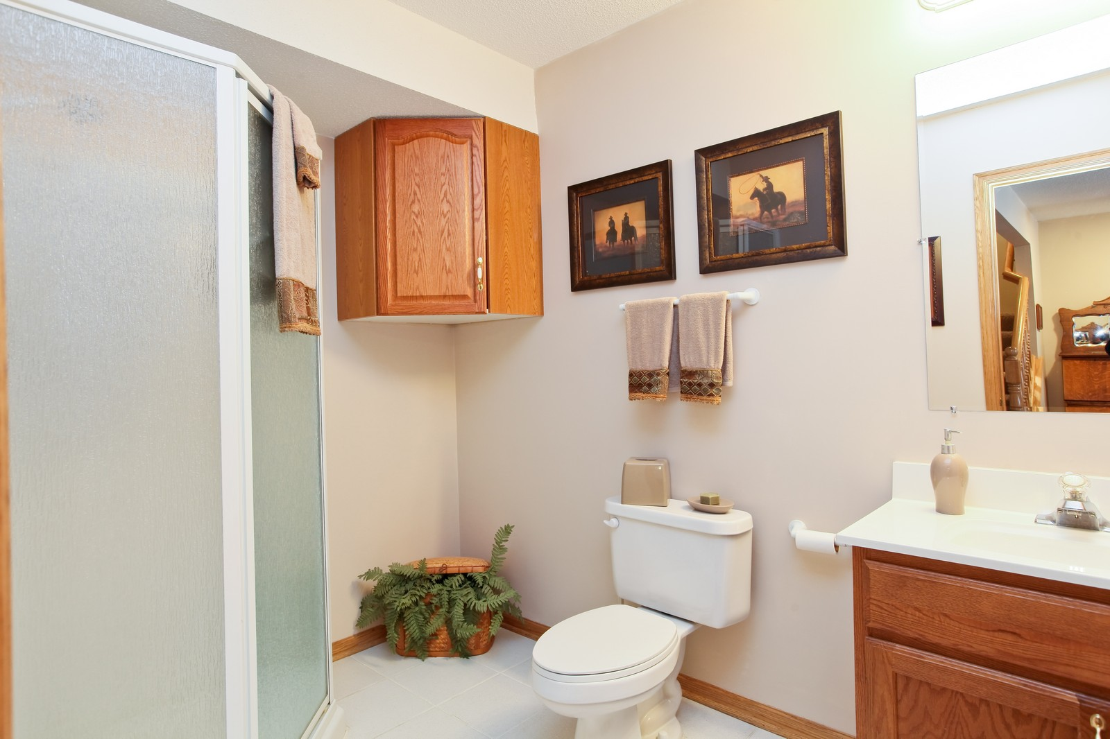 Real Estate Photography - 16020 38th Ave North, Plymouth, MN, 55446 - 2nd Bathroom