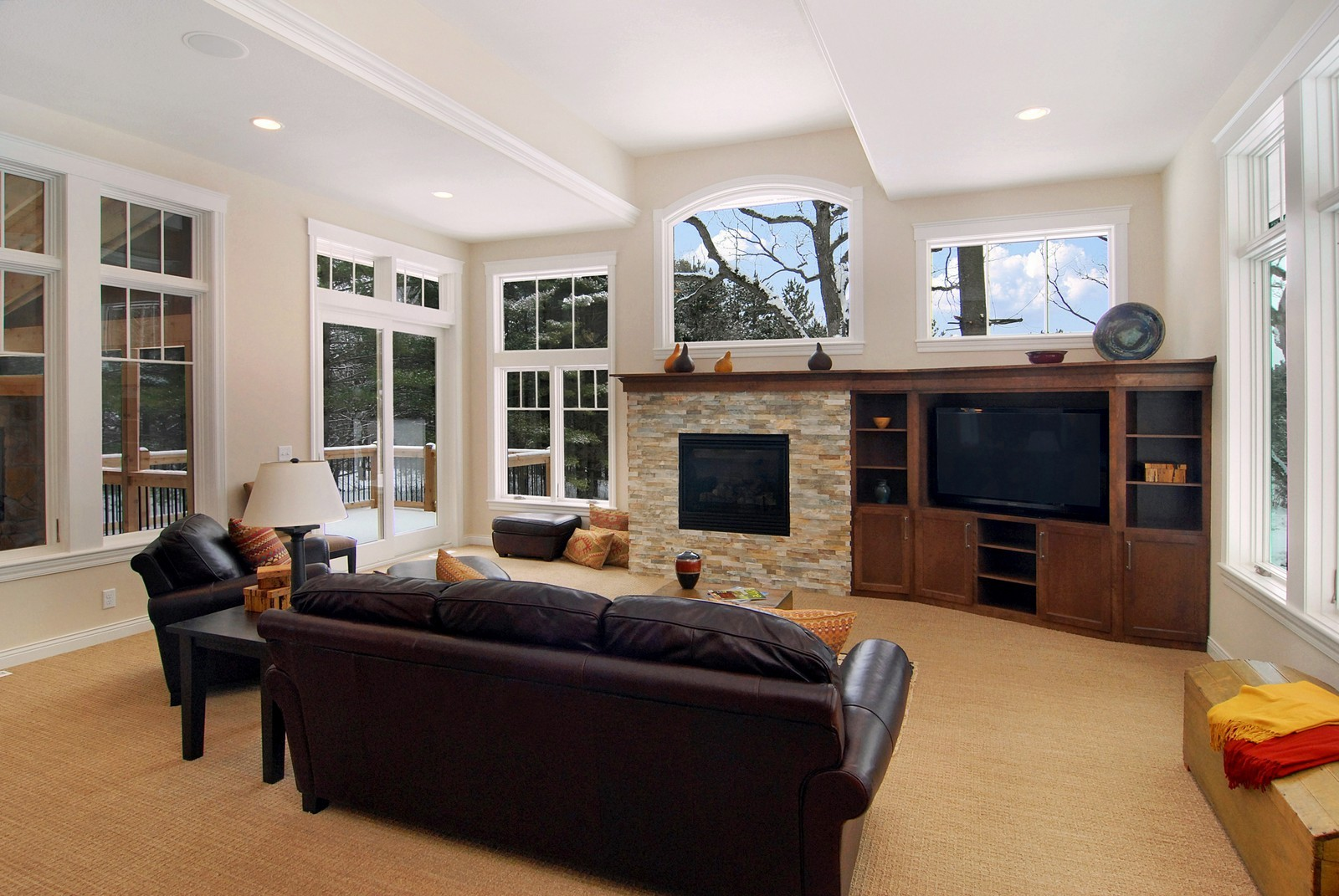 Real Estate Photography - 13220 24th Street North, West Lakeland, MN, 55082 - Living Room
