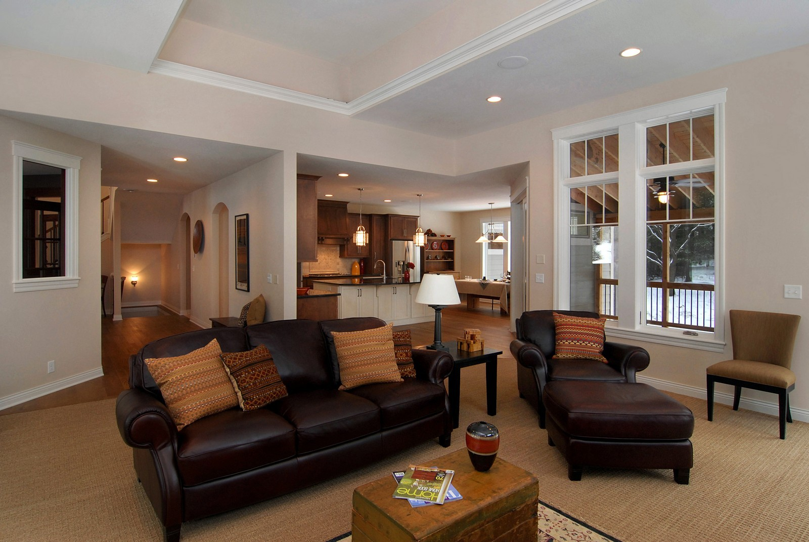 Real Estate Photography - 13220 24th Street North, West Lakeland, MN, 55082 - Great Room