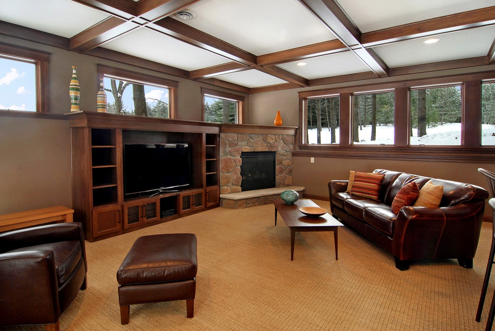 Real Estate Photography - 13220 24th Street North, West Lakeland, MN, 55082 - Family Room