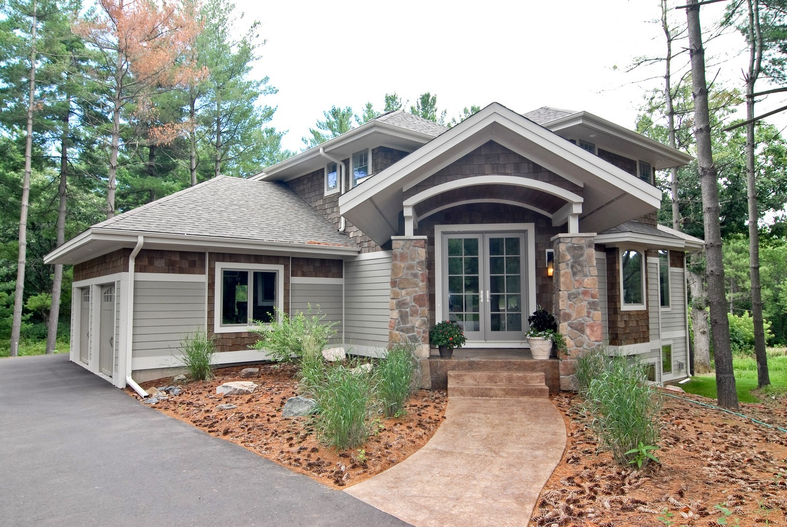 Real Estate Photography - 13220 24th Street North, West Lakeland, MN, 55082 - Front View