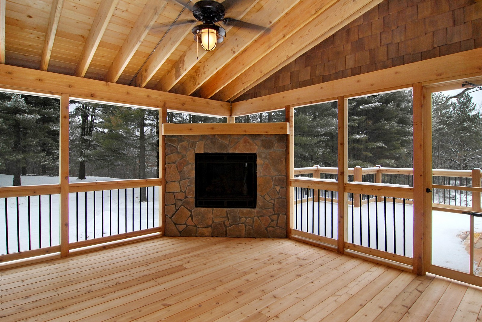 Real Estate Photography - 13220 24th Street North, West Lakeland, MN, 55082 - Sun Room