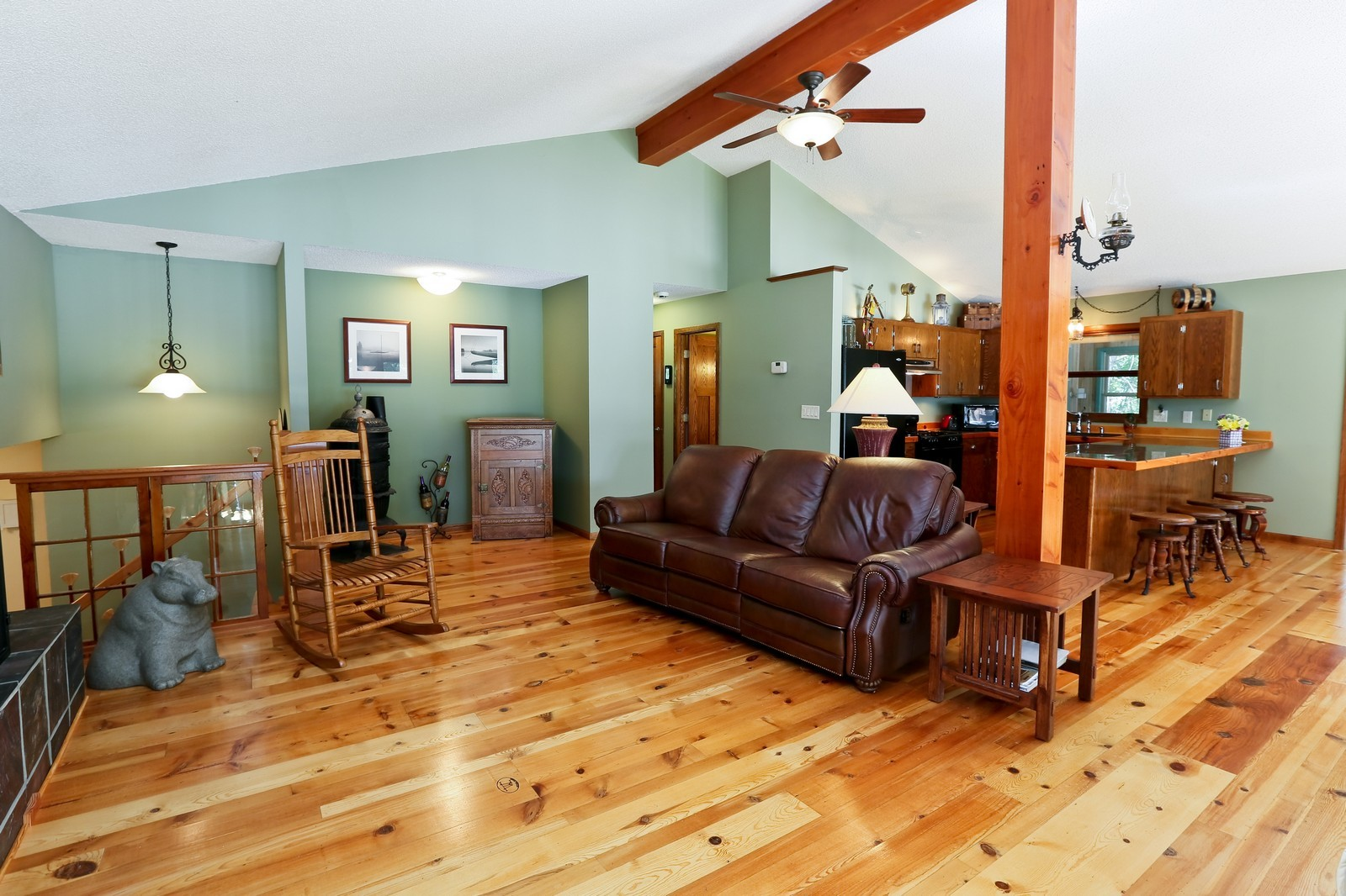 Real Estate Photography - 328 194th Street, Osceola, WI, 54020 - Living Room