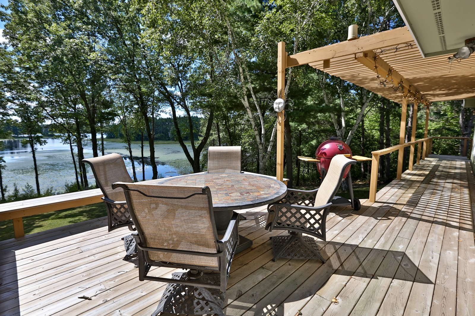 Real Estate Photography - 328 194th Street, Osceola, WI, 54020 - Deck