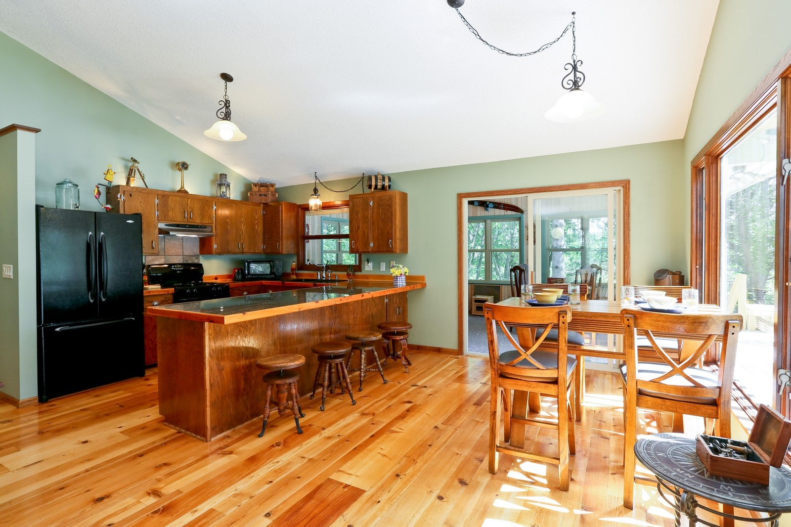 Real Estate Photography - 328 194th Street, Osceola, WI, 54020 - Kitchen / Dining Room