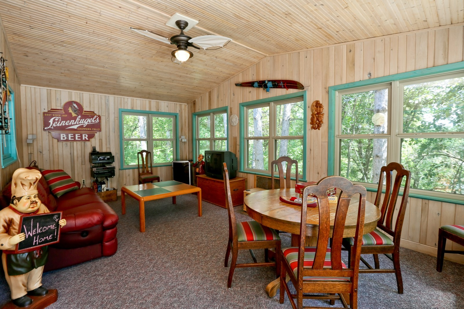 Real Estate Photography - 328 194th Street, Osceola, WI, 54020 - Sun Room