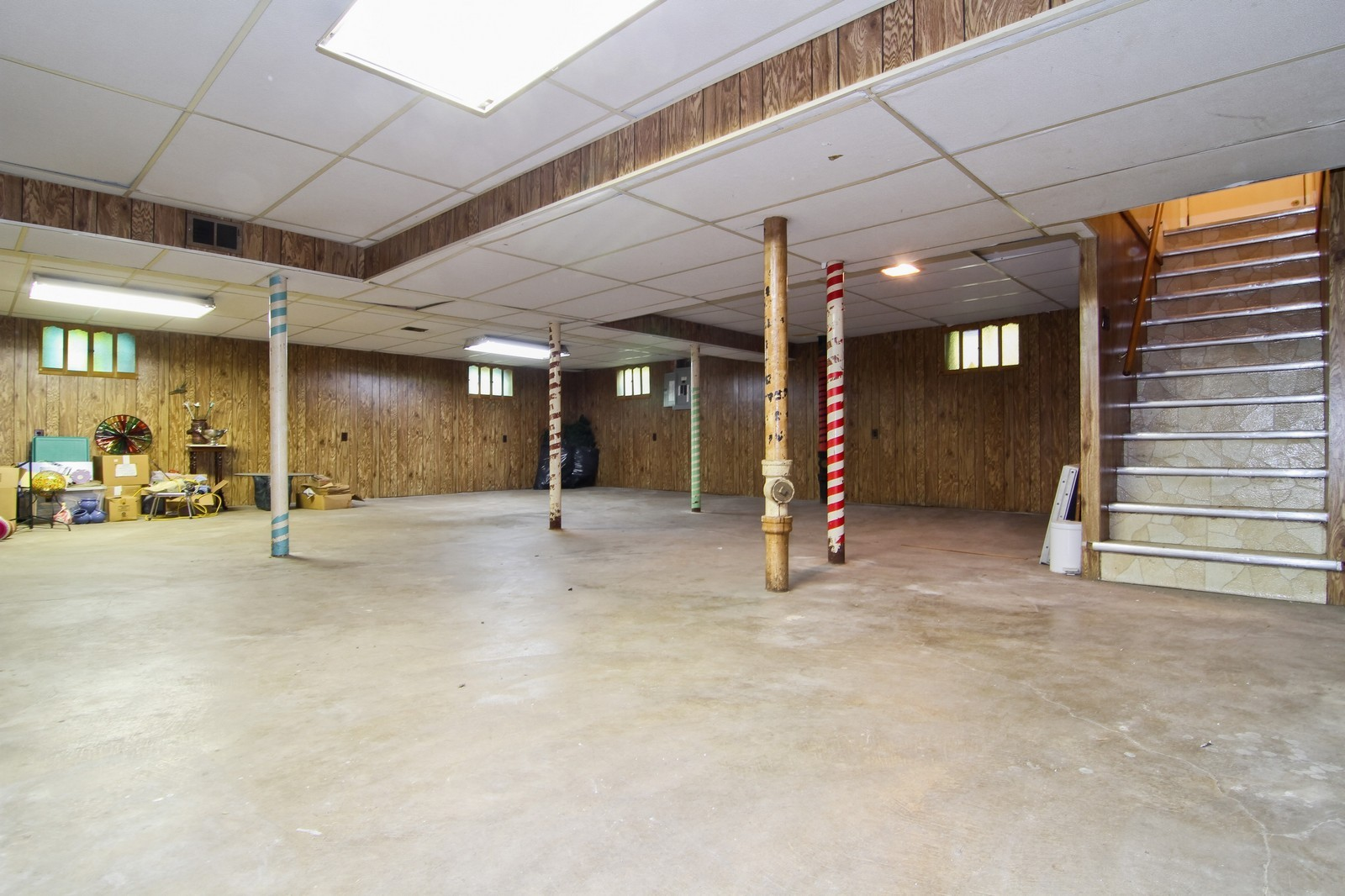Real Estate Photography - 1300 Balmoral, Westchester, IL, 60154 - Basement