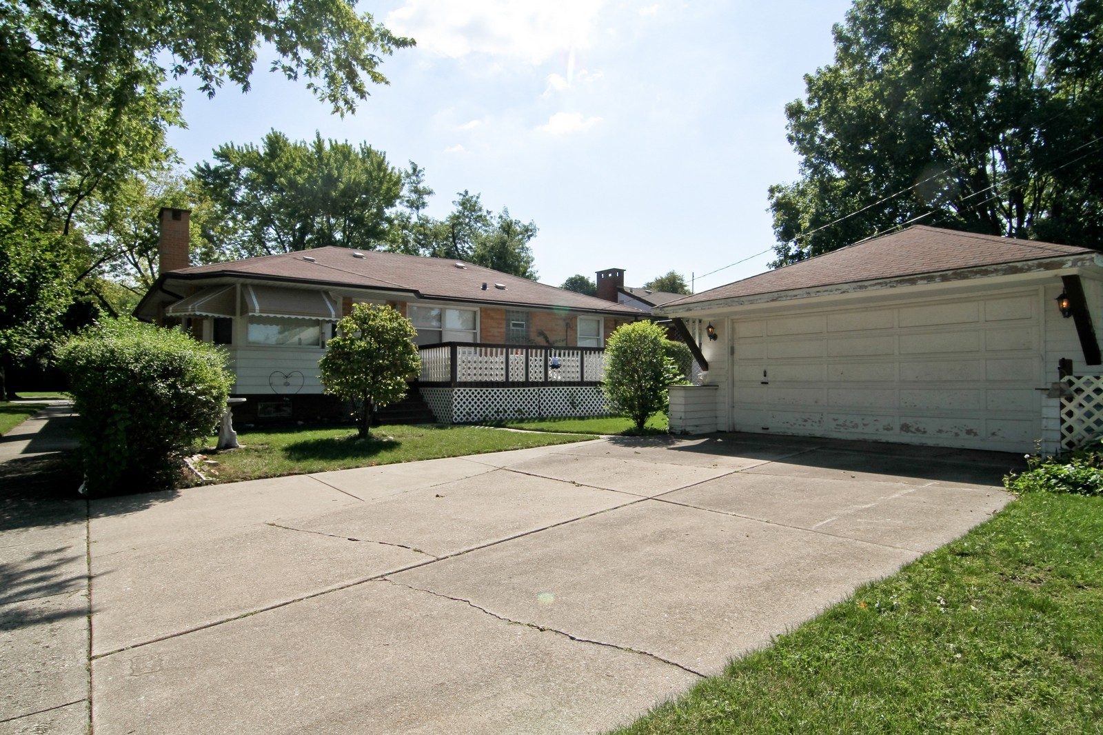 Real Estate Photography - 1300 Balmoral, Westchester, IL, 60154 - Rear View