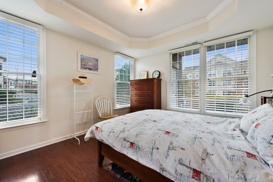 Real Estate Photography - 1698 Patriot Way, Glenview, IL, 60026 - Master Bedroom