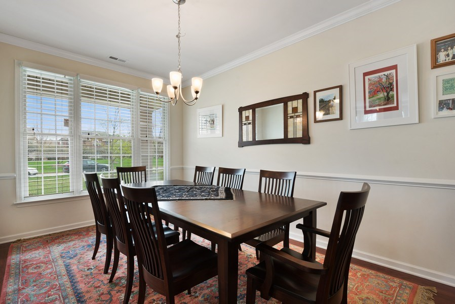 Real Estate Photography - 1698 Patriot Way, Glenview, IL, 60026 - Dining Room
