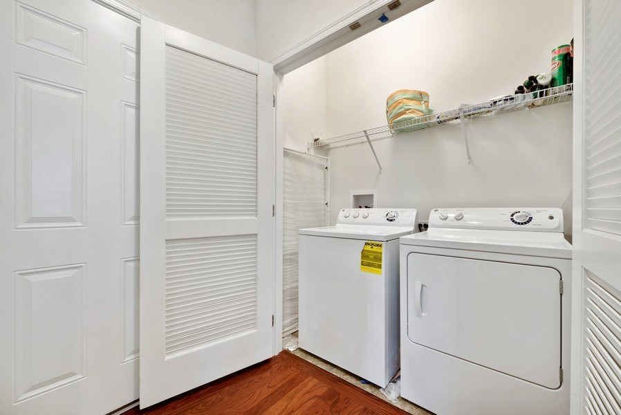 Real Estate Photography - 1698 Patriot Way, Glenview, IL, 60026 - Laundry Room