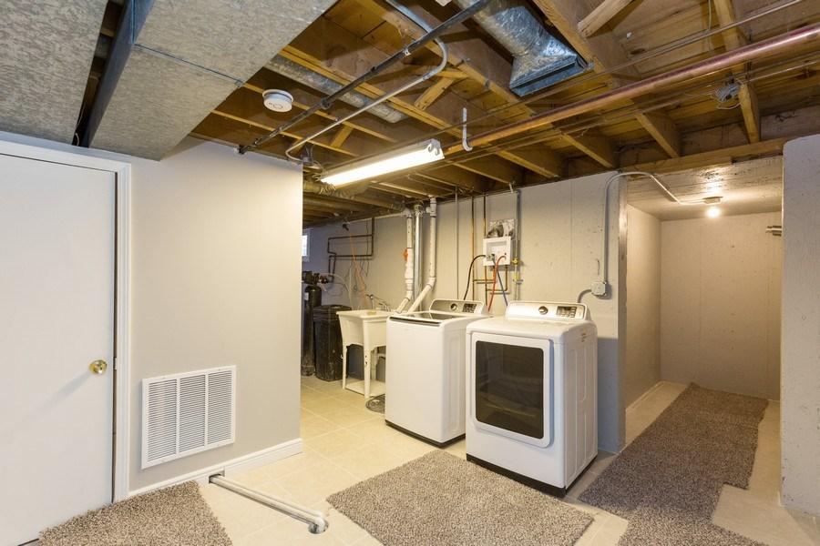 Real Estate Photography - 435 E Berry, Barrington, IL, 60010 - Laundry Room