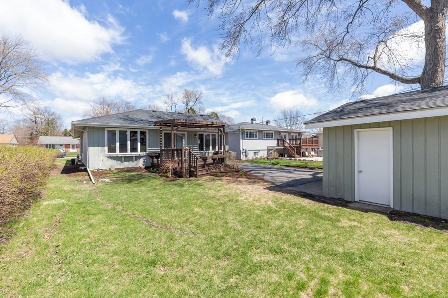 Real Estate Photography - 435 E Berry, Barrington, IL, 60010 - Rear View