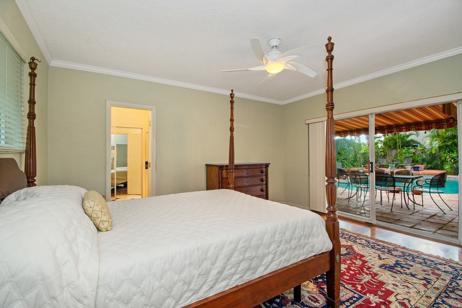 Real Estate Photography - 2860 NE 55th PL, Fort Lauderdale, FL, 33308 - Master Bedroom