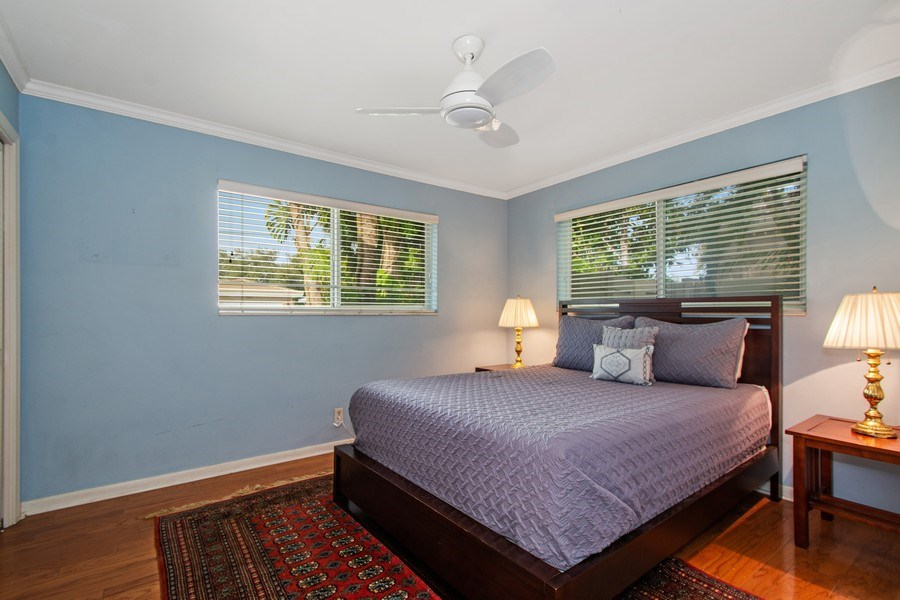 Real Estate Photography - 2860 NE 55th PL, Fort Lauderdale, FL, 33308 - East Bedroom