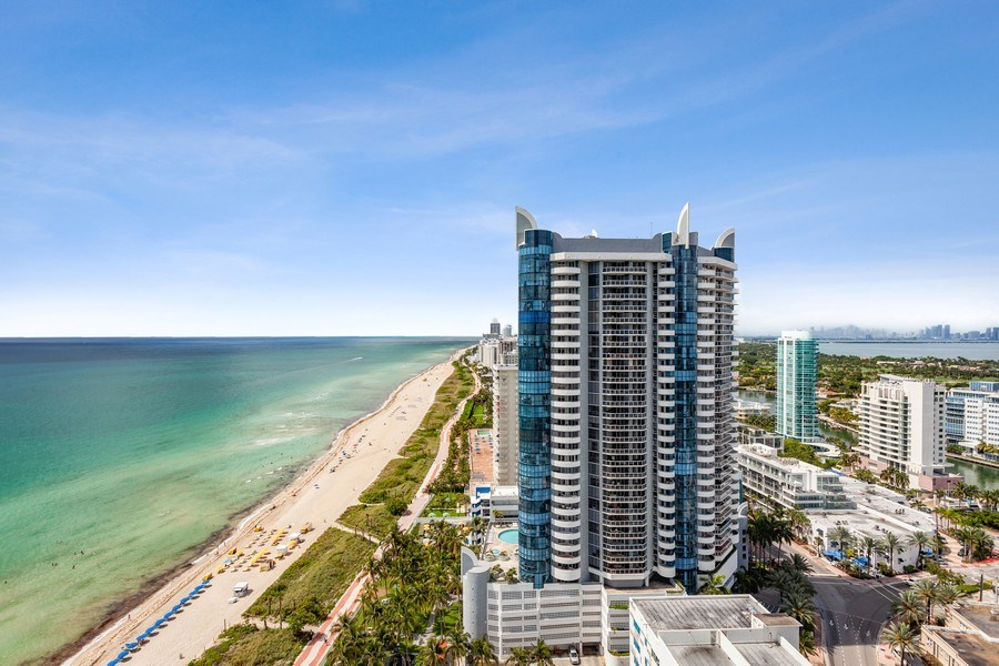Real Estate Photography - 6365 Collins Avenue 2704, Miami Beach, FL, 33141 - View