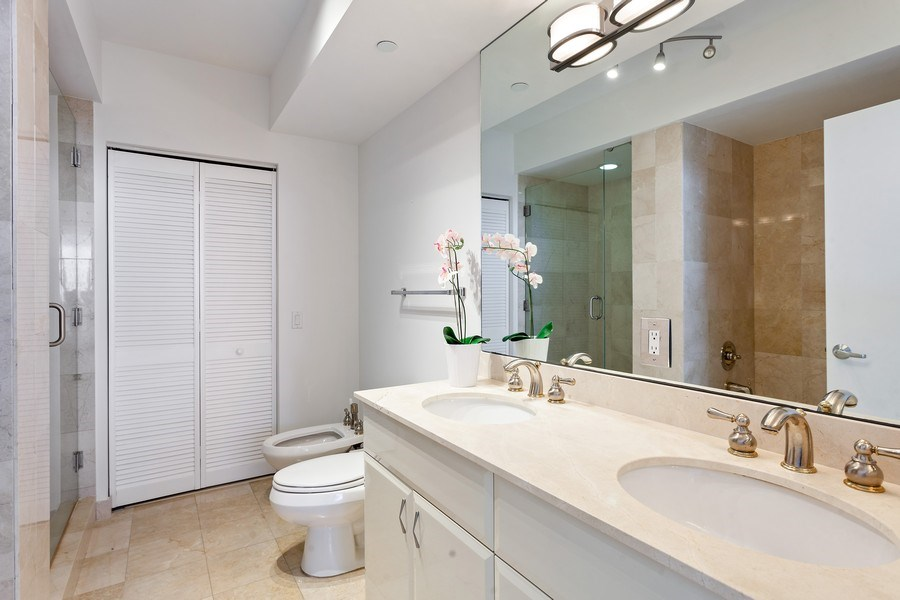 Real Estate Photography - 6365 Collins Avenue 2704, Miami Beach, FL, 33141 - Bathroom