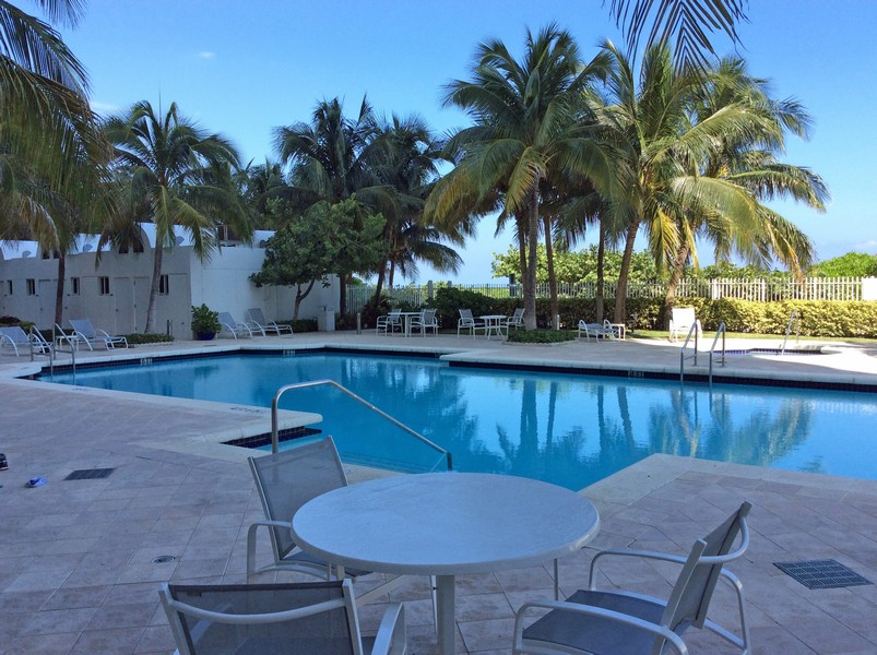 Real Estate Photography - 6365 Collins Avenue 2704, Miami Beach, FL, 33141 - Pool