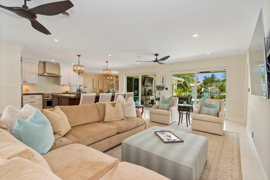 Real Estate Photography - 2761 N. E. 56 Court, Fort Lauderdale, FL, 33308 - Living Room