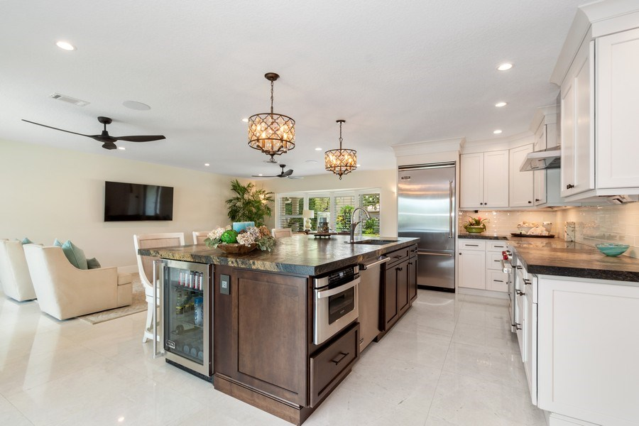 Real Estate Photography - 2761 N. E. 56 Court, Fort Lauderdale, FL, 33308 - Kitchen