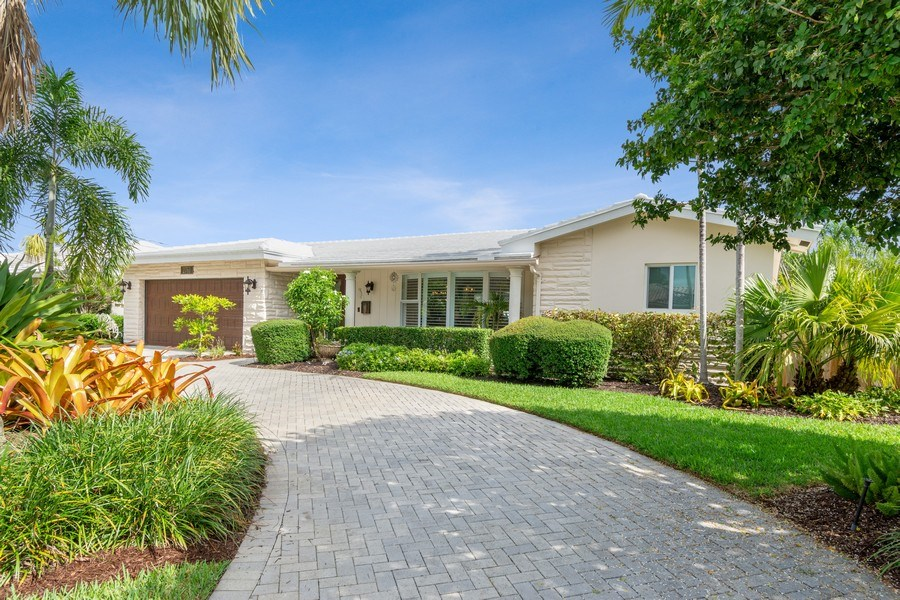 Real Estate Photography - 2761 N. E. 56 Court, Fort Lauderdale, FL, 33308 - Front View