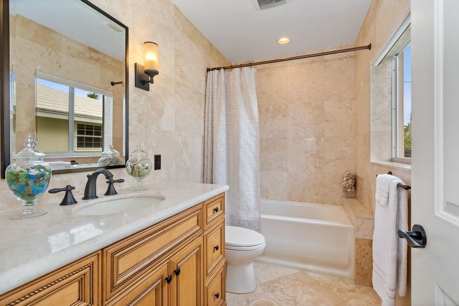 Real Estate Photography - 2761 N. E. 56 Court, Fort Lauderdale, FL, 33308 - Bathroom