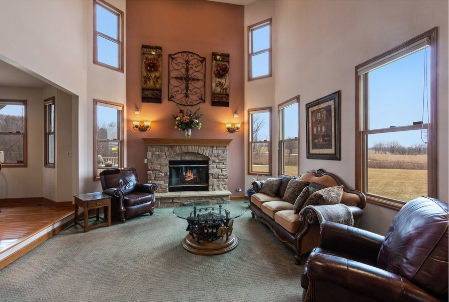 Real Estate Photography - 6513 Sweet Bay, McHenry, IL, 60050 - Living Room