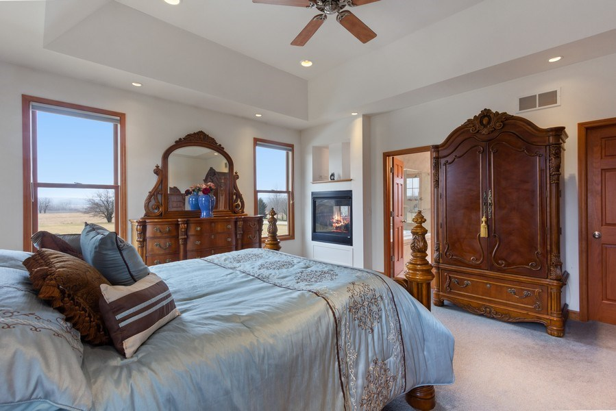 Real Estate Photography - 6513 Sweet Bay, McHenry, IL, 60050 - Master Bedroom