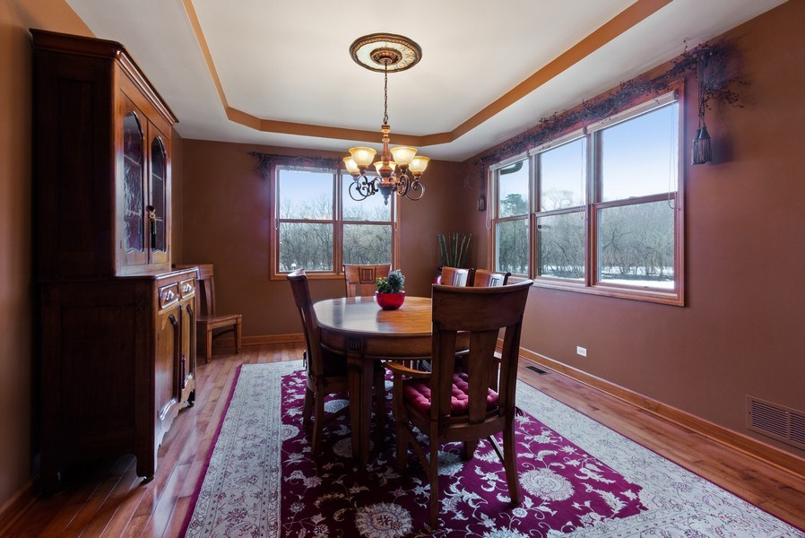 Real Estate Photography - 6513 Sweet Bay, McHenry, IL, 60050 - Dining Room
