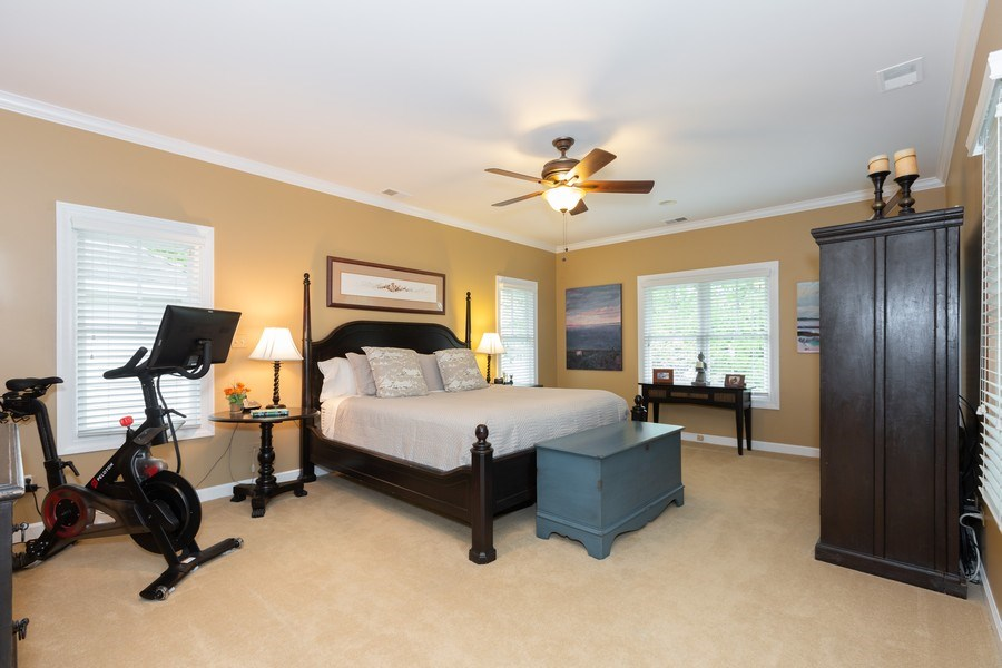 Real Estate Photography - 612 S Lincoln, Hinsdale, IL, 60521 - Master Bedroom