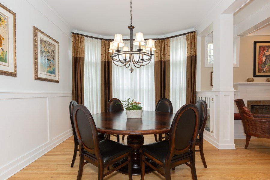 Real Estate Photography - 612 S Lincoln, Hinsdale, IL, 60521 - Dining Room
