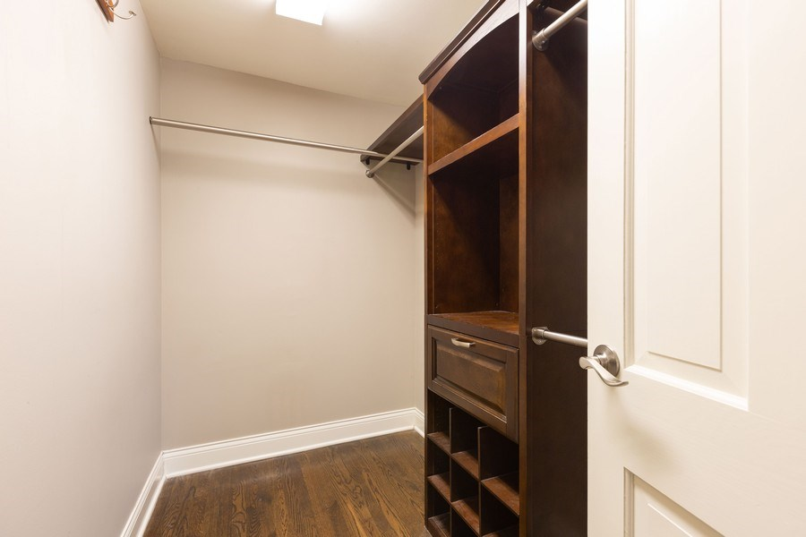 Real Estate Photography - 925 Kennebec Ln, Naperville, IL, 60563 - Master Bedroom Closet