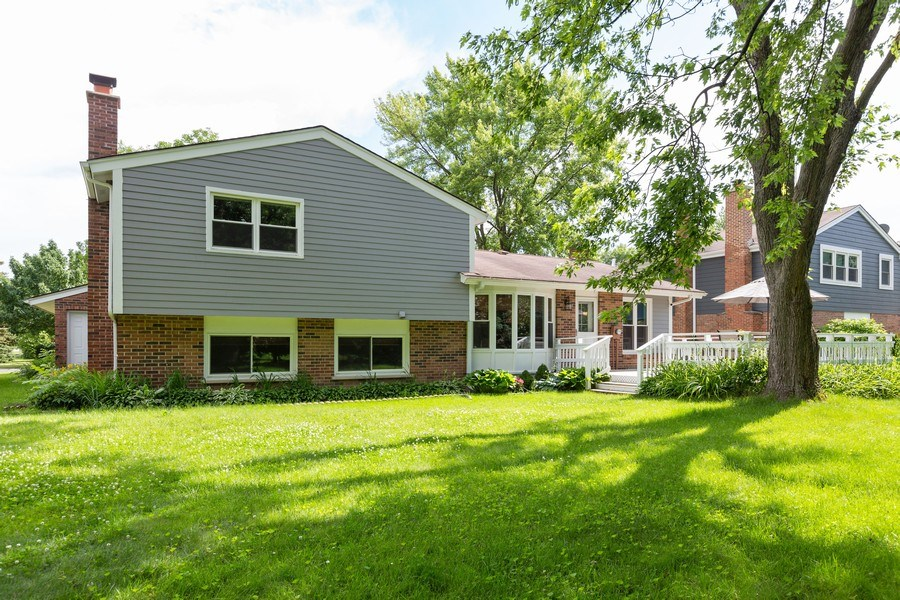 Real Estate Photography - 925 Kennebec Ln, Naperville, IL, 60563 - Rear View