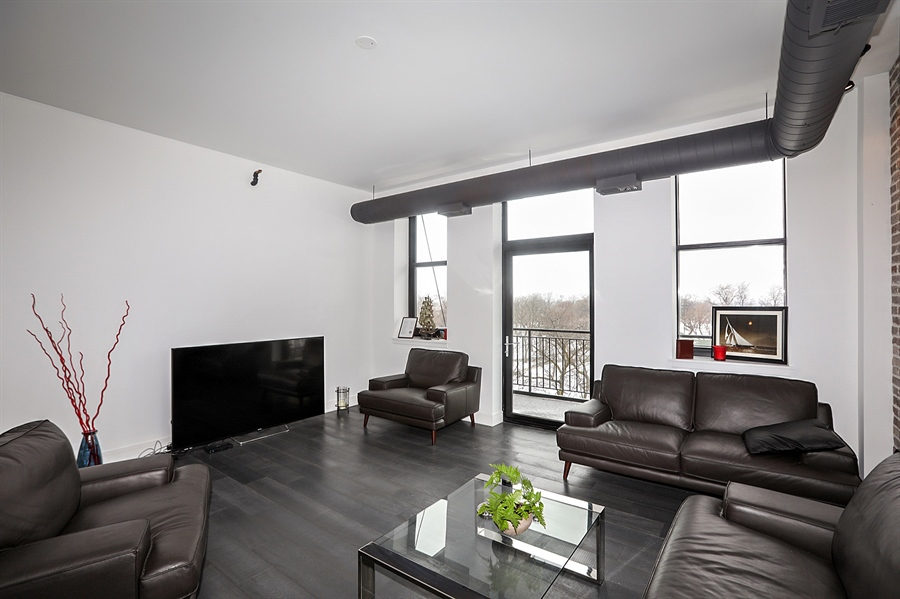Real Estate Photography - 2323 W Pershing Rd, Unit 505, Chicago, IL, 60609 - Living Room