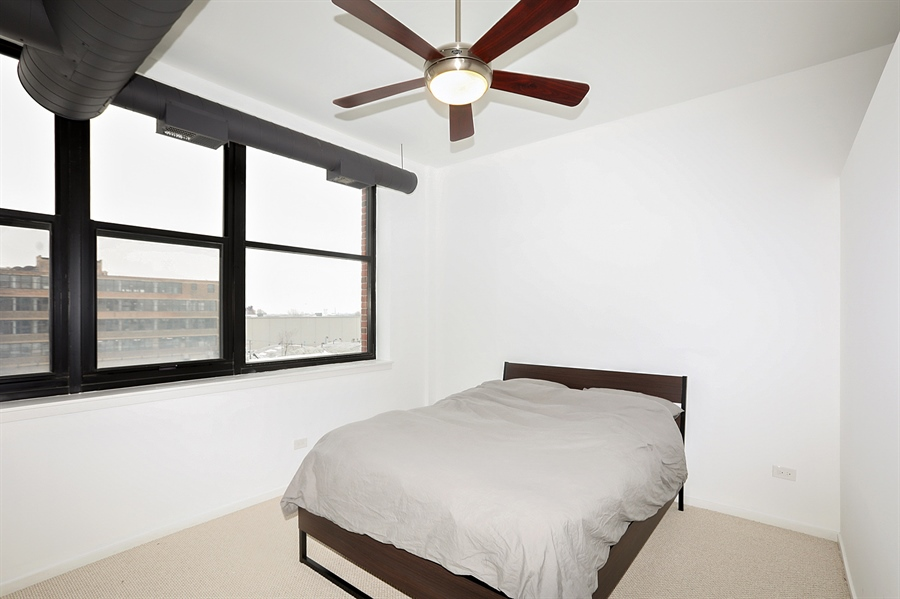 Real Estate Photography - 2323 W Pershing Rd, Unit 505, Chicago, IL, 60609 - Bedroom