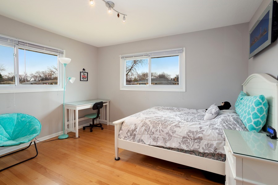 Real Estate Photography - 557 n Plamondon dr, Addison, IL, 60101 - 2nd Bedroom