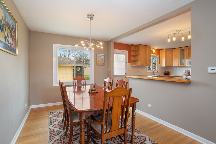 Real Estate Photography - 557 n Plamondon dr, Addison, IL, 60101 - Dining Room
