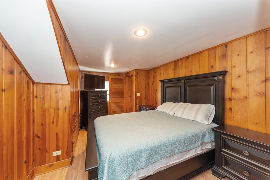 Real Estate Photography - 4529 N New England Ave, Harwood Heights, IL, 60706 - Master Bedroom