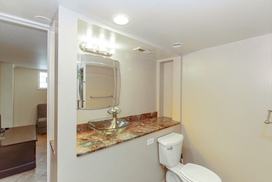 Real Estate Photography - 4529 N New England Ave, Harwood Heights, IL, 60706 - 2nd Bathroom