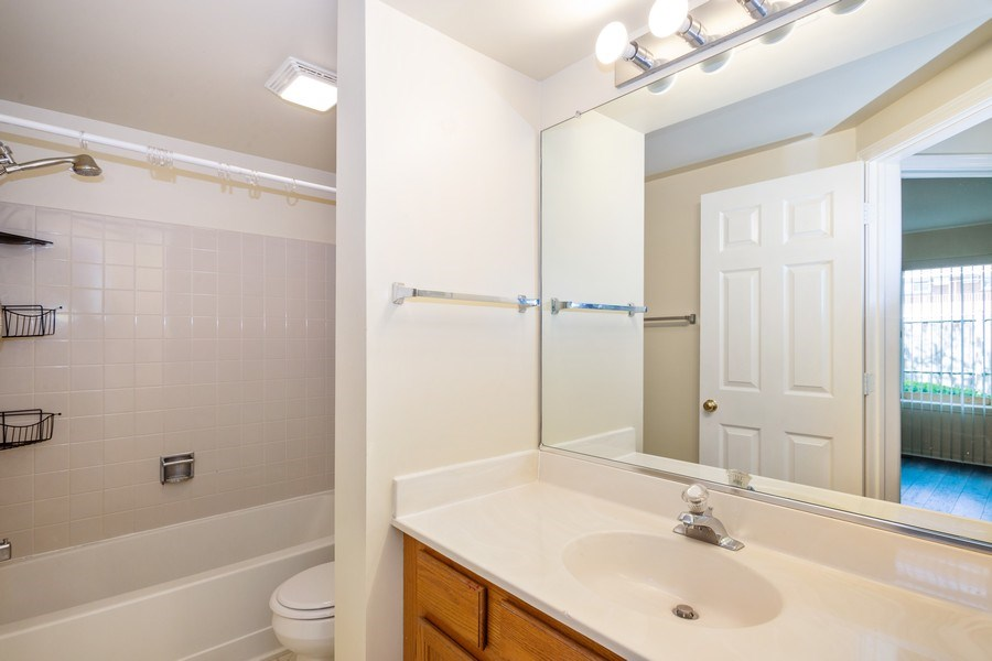 Real Estate Photography - 2651 S Cedar Glen, Arlington Heights, IL, 60005 - 2nd Bathroom