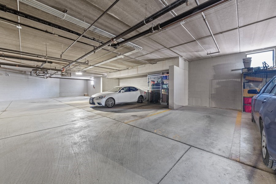 Real Estate Photography - 3300 W Irving Park Rd, Unit 3H, Chicago, IL, 60618 - Garage