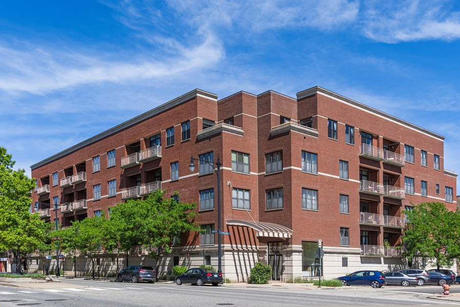 Real Estate Photography - 3300 W Irving Park Rd, Unit 3H, Chicago, IL, 60618 - Front View