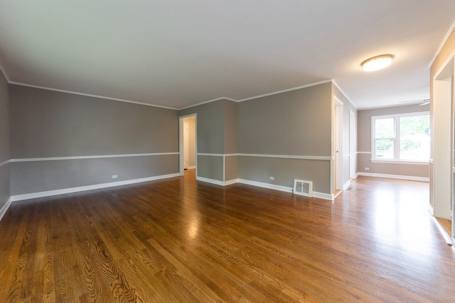Real Estate Photography - 40 E Daniels Rd., Palatine, IL, 60067 - Living Room / Dining Room