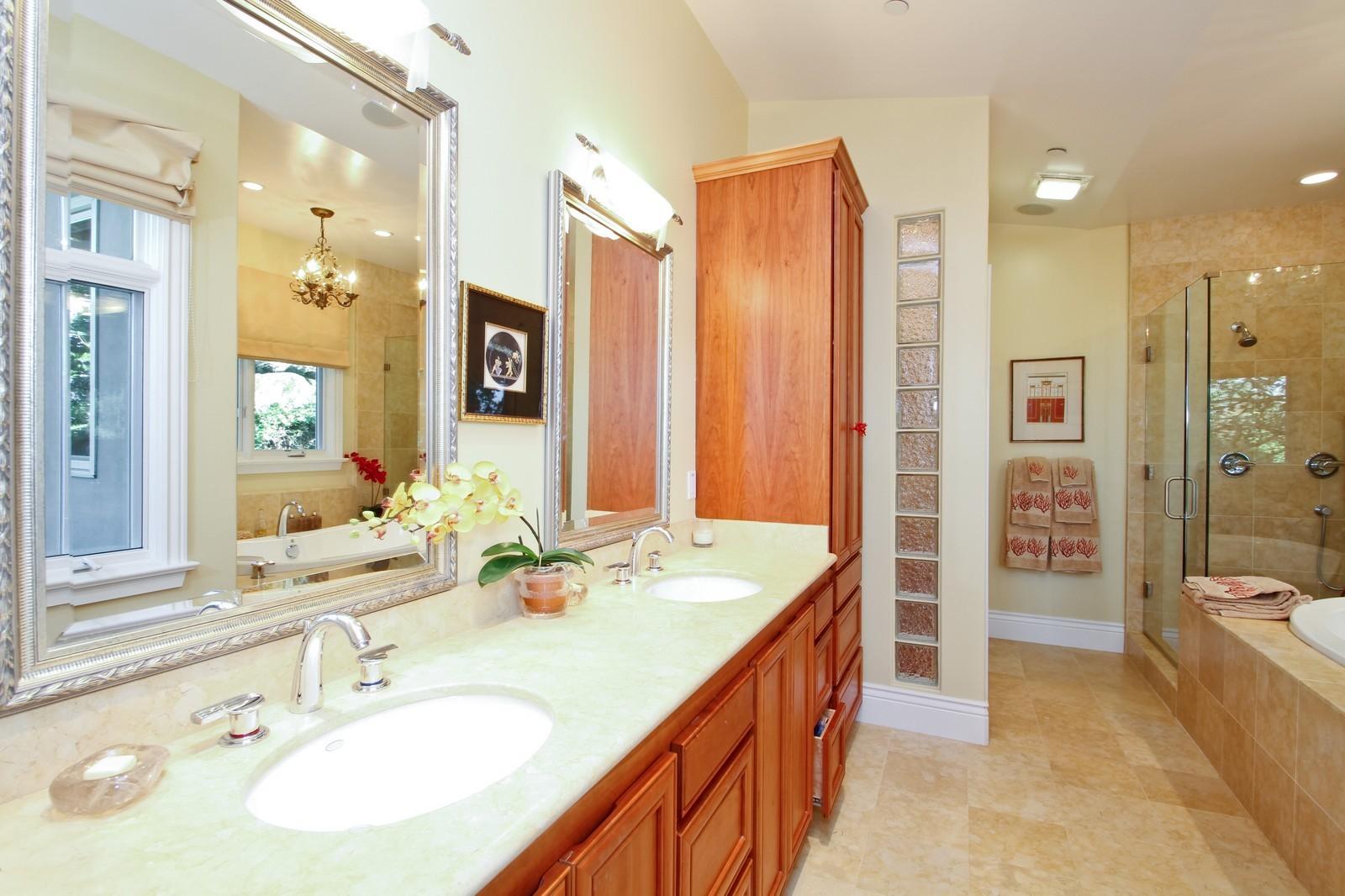 Real Estate Photography - 73 Upper Toyon Drive, Kentfield, CA, 94904 - Master Bathroom